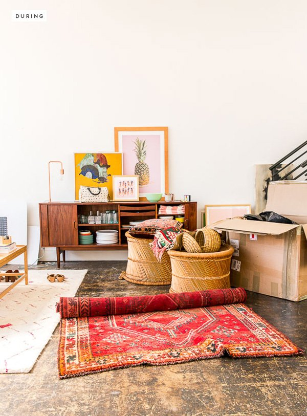 A loft space gets an upgrade. Click through for the before and after room makeover.