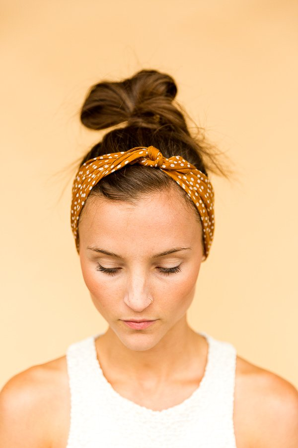 6 DIY Ways to Style a Bandana for Summer - The Tucked and Knotted Headband