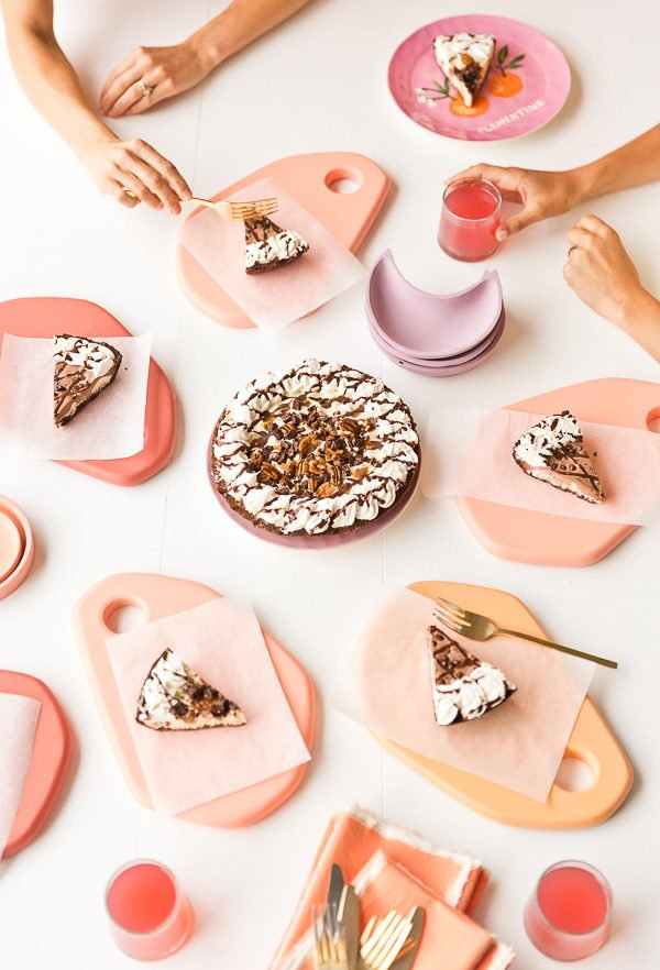 DIY Pastel Dessert Trays for Parties. Click through for the tutorial.