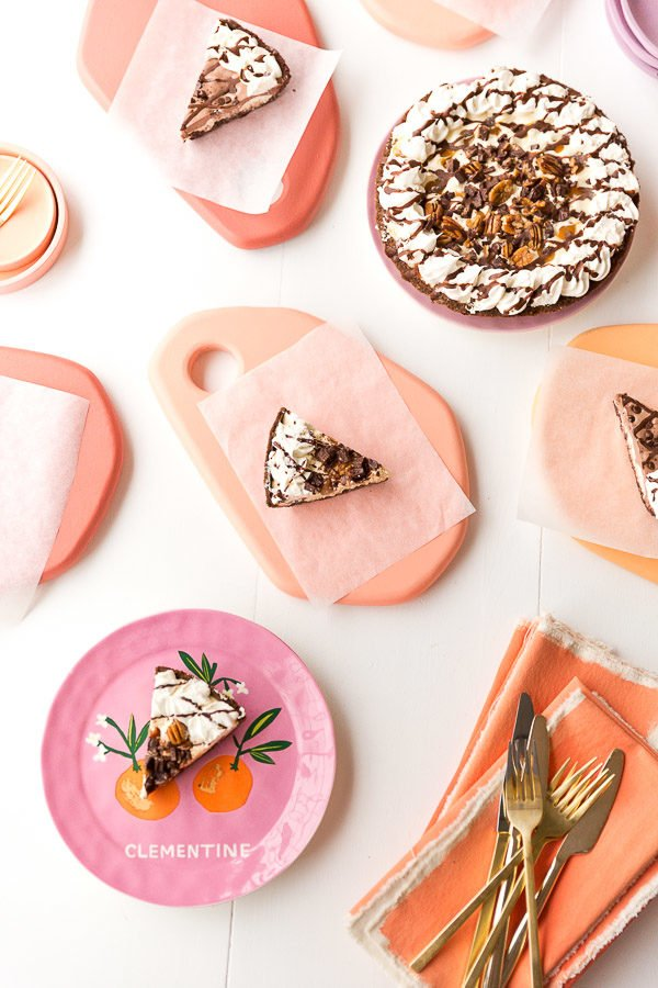 DIY Pastel Dessert Trays for Parties and Summer Entertaining