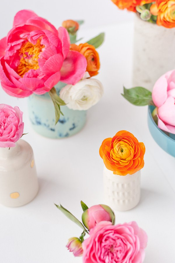 Make it mini the art of mini flower arrangements how to the art of the mini arrangement how to quickly arrange teeny tiny bouquets in vases mightylinksfo