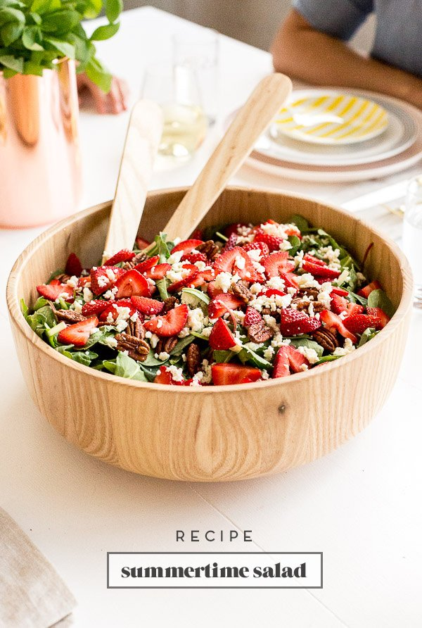 Strawberry Fields Forever: A Summertime Salad Recipe