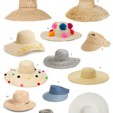 Hat Trick: 12 Must-Have Straw Hats for Summer