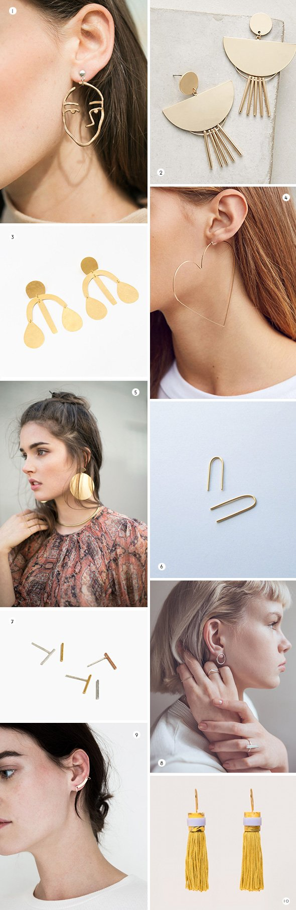 18 of My Fave Statement Earrings for Summer - Paper and Stitch