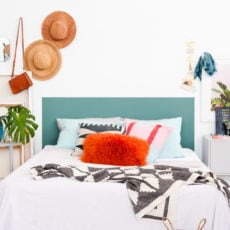 In Your Dreams: A Clever DIY Headboard Idea that Will Only Take One Hour to Complete