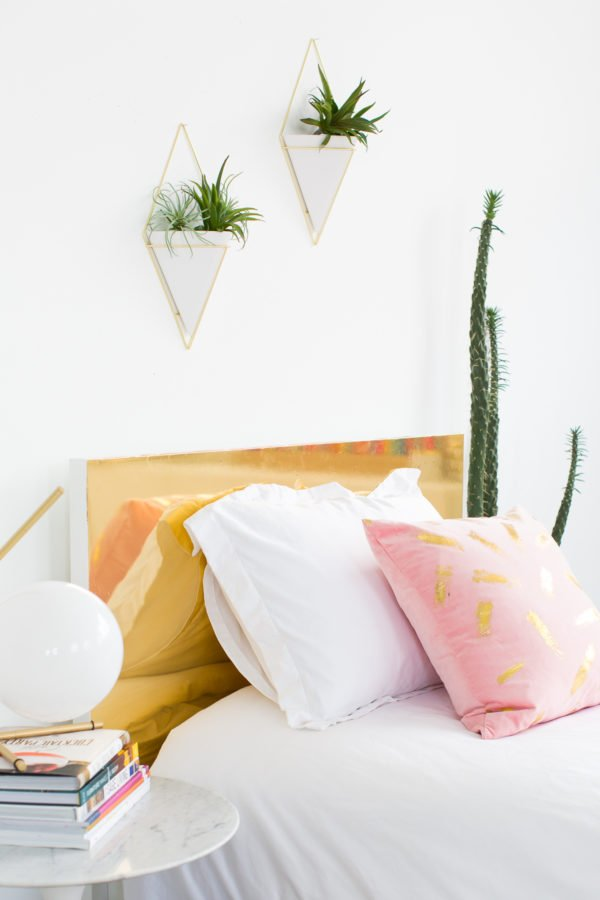 Total Headcase: 9 DIY Headboard Ideas