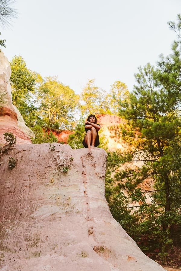 Snippets from Providence Canyon