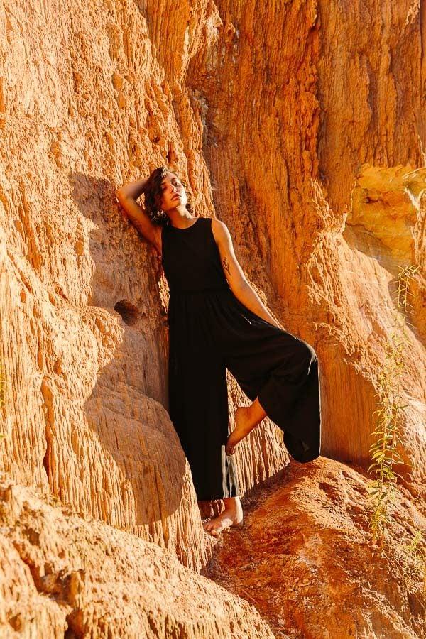 Megan Huntz jumper in Providence Canyon