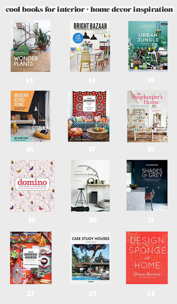 24 of My Fave Books for Home Decor and Interiors Inspiration (on Amazon Prime)