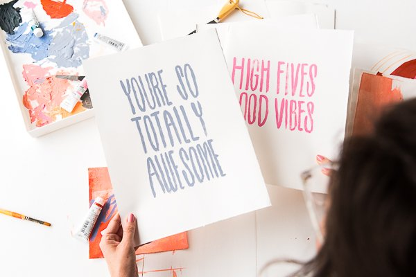 How to make printables using your phone + 3 printables you can download right now.