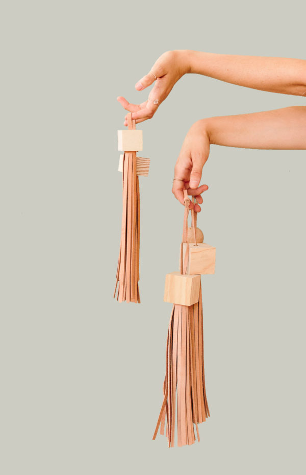 DIY statement tassels