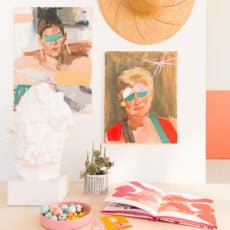 Mix It Up: How to Make DIY Mixed Media Artwork