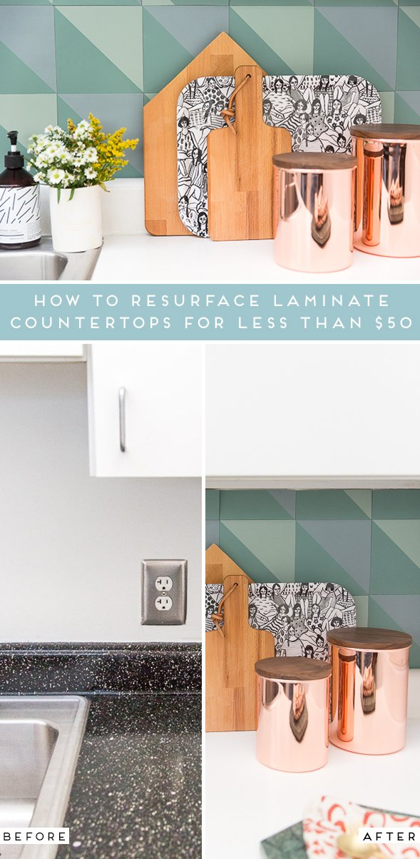 How to Resurface Laminate Countertops for Less Than $50
