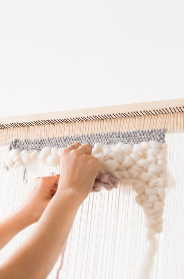 Weave Thieve How To Make A Diy Weaving Loom For Less Than 20