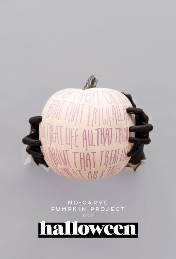 That Trick or Treat Life: A No-Carve Pumpkin Project Using Custom Color Paint Markers #nocarvepumpkins #pumpkindiy