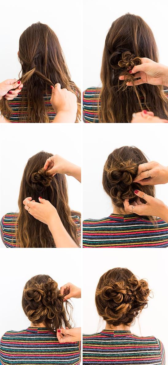 A 5 minute hair hack hair tutorial
