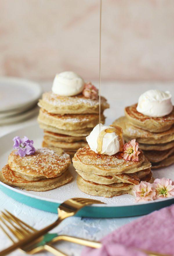 banana oatmeal #pancakes