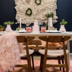 DIY Holiday Entertaining: My Tiny Party Reveal for the Holidays + $500 Giveaway!