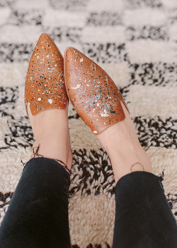 DIY Painter Shoes Makeover