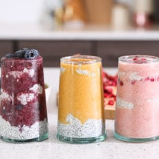 Making a Mess with Morning Smoothies (And Three Chia Seed Smoothie Recipes)