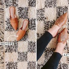 Shoe Win: DIY Painter Shoes Makeover