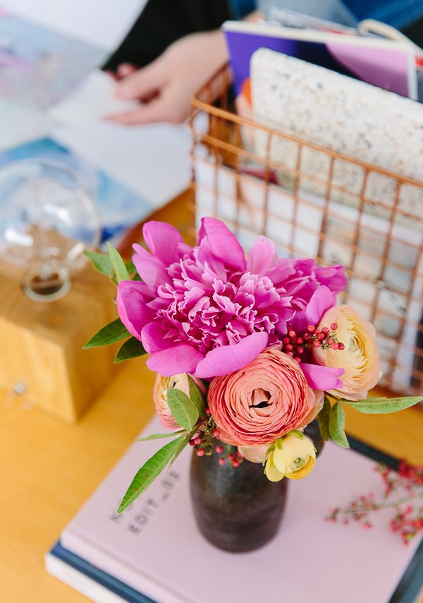 Ranunculus and peonies! The Procrastinators Guide to the Holidays: Last Minute Holiday Gifts That Won't Seem Last Minute