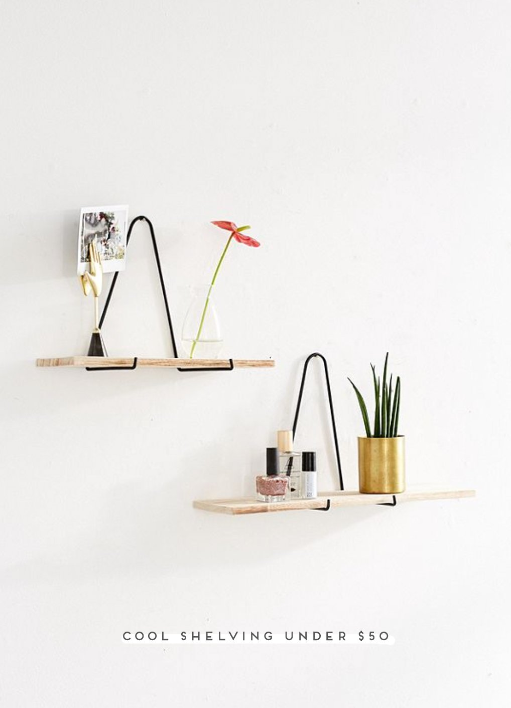 Oh So Shelfish: 15 Cool Shelves Under $50 - Paper and Stitch