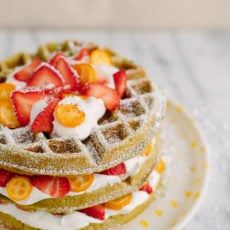 Green with Envy: A Matcha Waffles Recipe