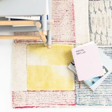 How to Make a Large Scale (Patchwork) DIY Rug