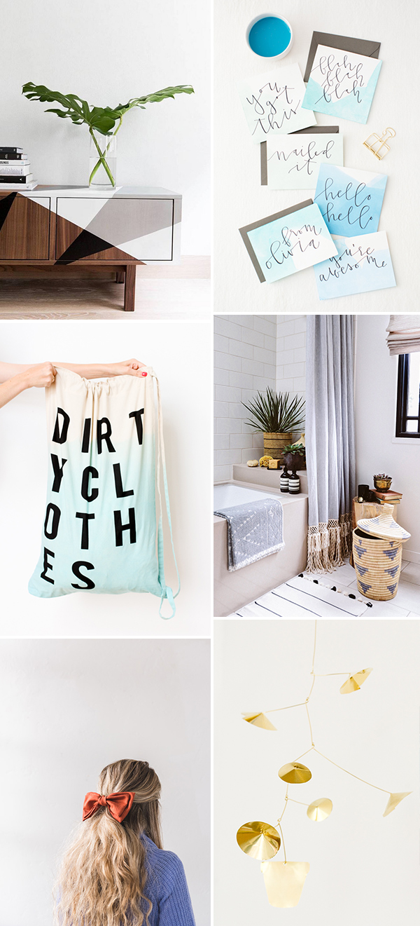 6 Weekend DIYs to Try #weekendprojects #diy