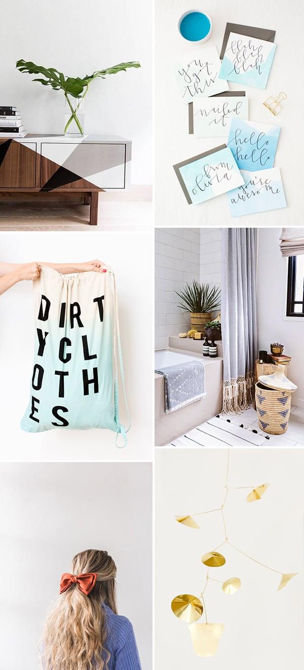 6 Weekend DIYs to Try #weekendprojects #diy