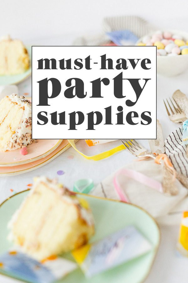 Must-Have Party Supplies for Entertaining #party #partysupplies #entertaining #pastels