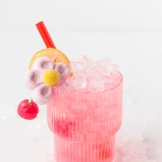 Candy Coated Cocktails for Valentine's Day