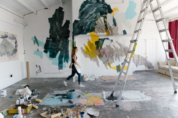 Heather Day! Click through for more incredible female artists you should be following right now. #artist #femaleartist #artwork #abstractart
