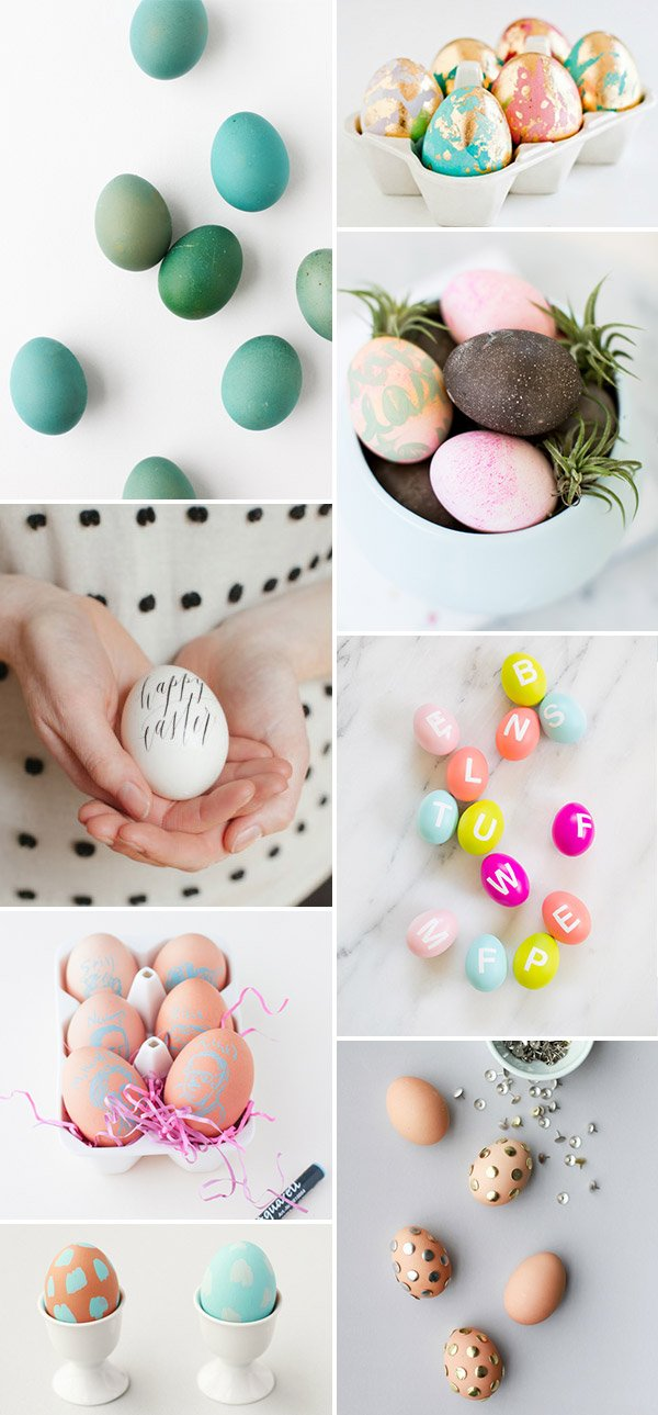 16 Unique Diy Easter Egg Ideas To Try