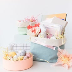 How to Make Easter Baskets with Just ONE Material in 15 Minutes