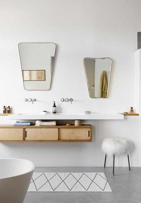 13 Ways to Get Your Bathroom Looking Fresh And Clean for Spring. #bathroom #springcleaning #bathroominspo