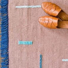 How to Customize a Plain Rug with Embroidery (DIY)