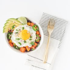 A Monday Morning Mexican Breakfast Bowl Recipe