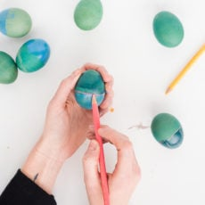 Easter DIY to Try: Rothko Inspired Easter Eggs