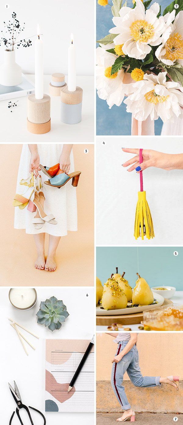 7 Weekend DIYs to Try! All about #1, 2, and 7 especially. Click through to see all seven. #diy #diyideas #weekendprojects