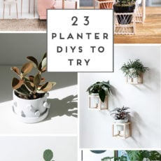 (Green) Thumbs Up: 23 Unique DIY Planters You'll Actually Want to Make