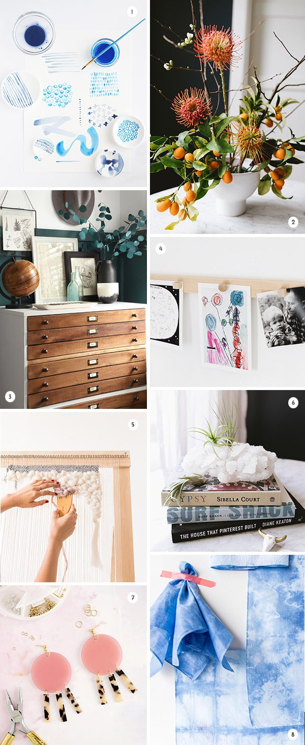 8 DIYs to Try This Weekend #weekendprojects #diy #diyideas