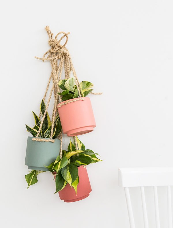 $5 Target Hack planter project. Check out these 23 Planters You Can DIY! #plants #diyplanter #planter #pots