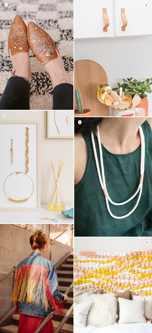 6 DIYs to Try This Weekend. #weekendprojects #diy #diyprojects