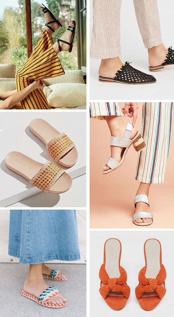The coolest summer sandals for every budget. #summersandals #sandals #summershoes