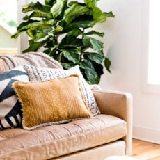 Flip It + Reverse It: How to Sew a Reversible Pillow