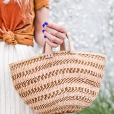 Bag It Up: How to Make a Basket Bag for Summer