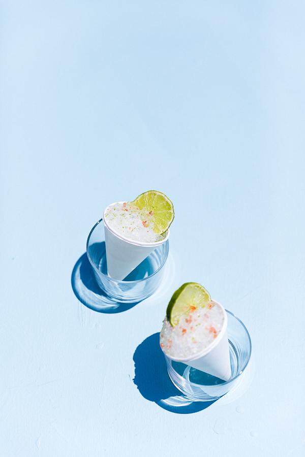 Summer cocktail idea... Margarita Snow Cones (for Cinco de Mayo). #cocktailrecipe #summer #margaritas