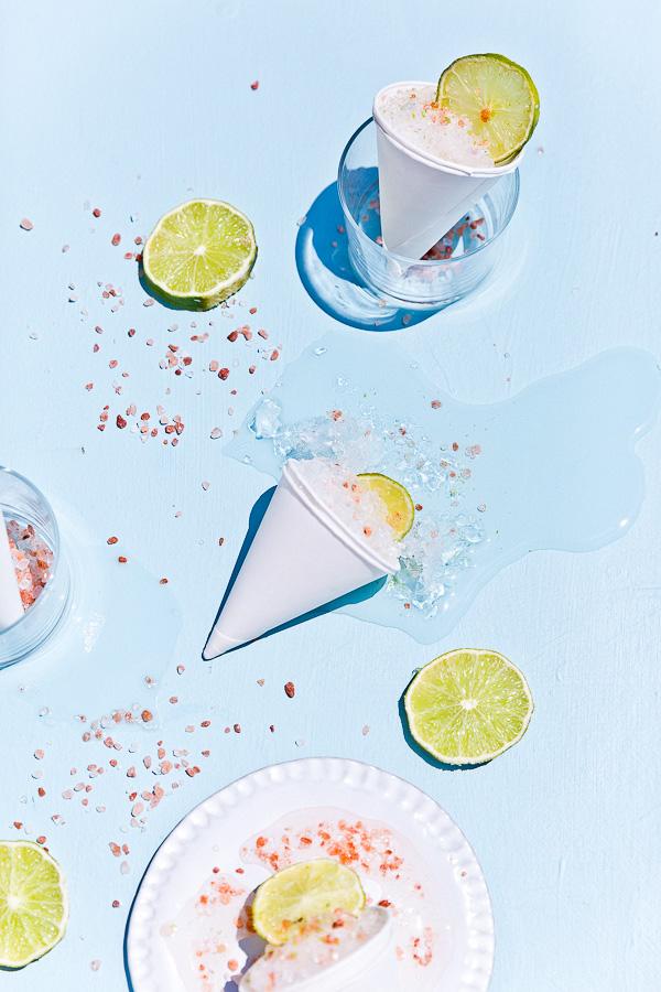Summer cocktail idea... Margarita Snow Cones (for Cinco de Mayo). #cocktailrecipe #summer #margarita